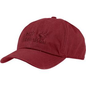 Jack Wolfskin Baseball Cap, red maroon